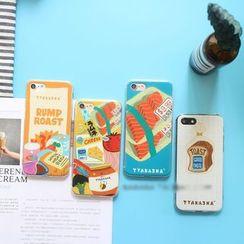 Hachi - Food Print Phone Case - Apple iPhone 6 / 6 Plus / 7 / 7 Plus