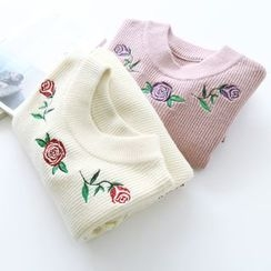 Bonbon - Embroidered Sweater