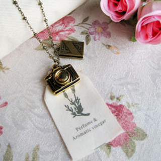 MyLittleThing - Copper Journalist Necklace