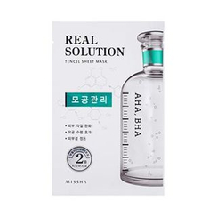 Missha - Real Solution Tencel Sheet Mask (Pore Control)