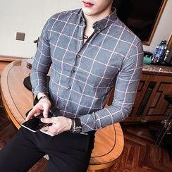 Maluda - Long-Sleeve Check Shirt