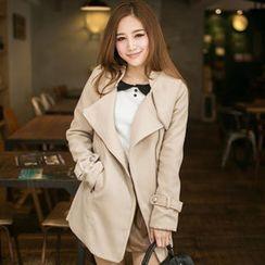 Tokyo Fashion - Tie-Waist Zip Coat
