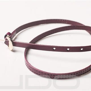 UDOT - Genuine Leather Perforated Belt