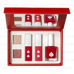 Laneige - Lucky Holiday Makeup Palette: Eye Shadow x 2 + Lip Gel x 2 + Nail Color x 1 + Nail Sticker