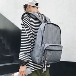 Arthur Look - Plain Canvas Backpack