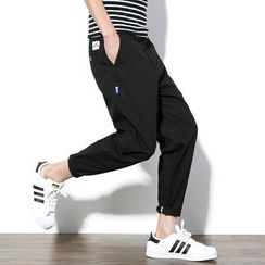 Besto - Plain Baggy Pants