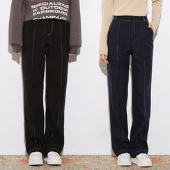 Heynew - Knit Straight Pants