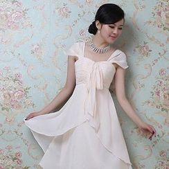Bridal Workshop - Sleeveless Chiffon Party Dress