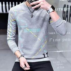 DTT - Print Sweatshirt