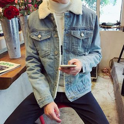 JORZ - Fleece Lined Denim Jacket