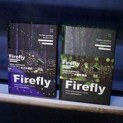 Homey House - fireflies印花筆記本 (中號)