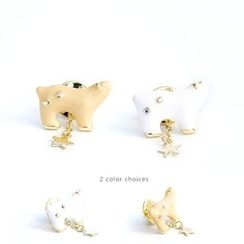 Ginga - Polar Bear Brooch