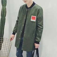 JUN.LEE - Longline Bomber Jacket