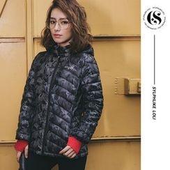 Sylphlike Loli - Sport Hooded Down Jacket
