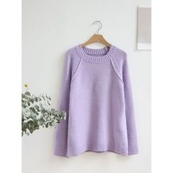 hellopeco - Wool Blend Knit Top