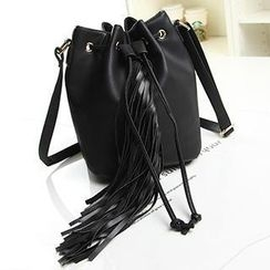 Ballerina Bags - Fringed Bucket Bag