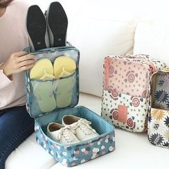 Lazy Corner - Printed Shoe Storage Bag