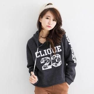 Tokyo Fashion - Lettering Hooded Pullover