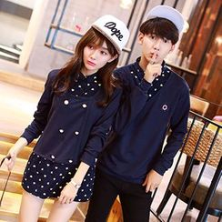 Lovebirds - Couple Heart-Print Top / Dress