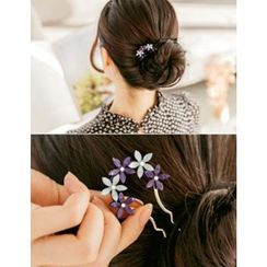 soo n soo - Flower Hair Pin