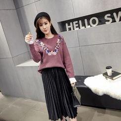 RUI - Pleated Midi Skirt
