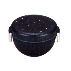 Miyamoto Sangyo - Have a Lunch Bowl Lunch Box (Wood Navy Dot)