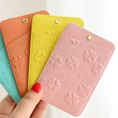 OH.LEELY - Four-Leaf Clover Card Holder