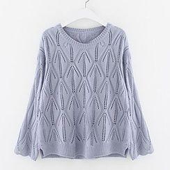 Meimei - Open Knit Sweater