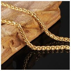 Tenri - Gold Stainless Steel Chain Necklace