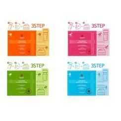 LEADERS - Mediu 3-Step Vitamino Mask 25ml + Ampoule 2ml + Cream 2ml
