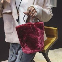 优尚良品 - 抓毛手提包