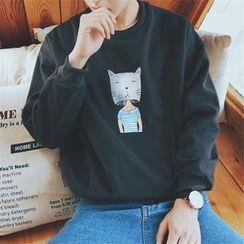 子俊 - 貓咪印花套衫