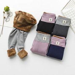 Corella - Fleece Lined Color Panel Leggings