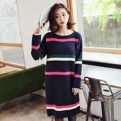 Tokyo Fashion - Striped Knit Dress