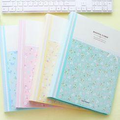 YouBuy - Floral Print A4 File Folder