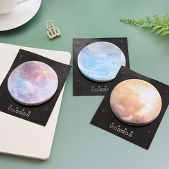 Cute Essentials - Moon / Planet Sticky Notes (Assorted Designs)
