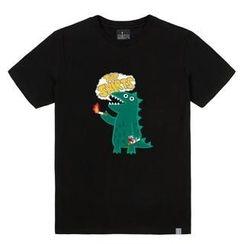 the shirts - Dinosaur Print T-Shirt