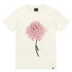 the shirts - Lotus Print T-Shirt
