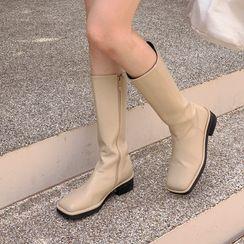Miamasvin - Brushed-Fleece Lined Skinny Jeans