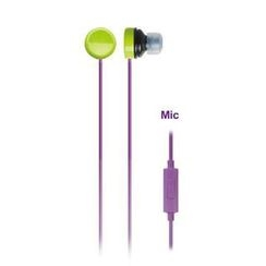 Zumreed - Zumreed ZHP-110S Earphones (with Mic) (Violet)