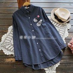YOYO - 條紋襯衫