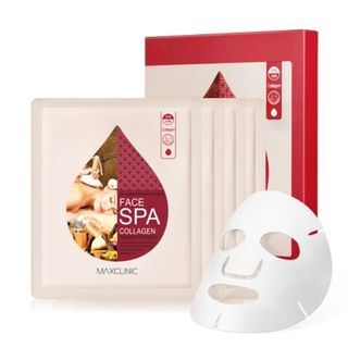 MAXCLINIC - Face Spa Collagen Firming Treatment Mask Pack 4pcs