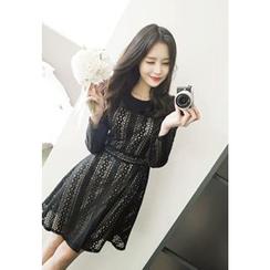 MyFiona - A-Line Lace Dress