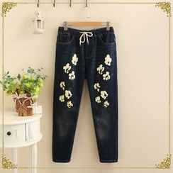 TOJI - Printed Skinny Jeans