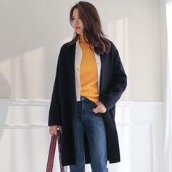 WITH IPUN - Wool Blend Coat