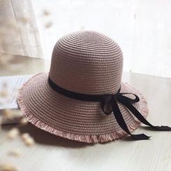 EVEN - 蝴蝶結草帽