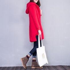 Fancy Show - Fleece-Lined Hooded Zip Coat