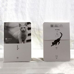 MissYou - 小貓印花筆記本