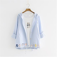 Storyland - Hooded Print Shirt