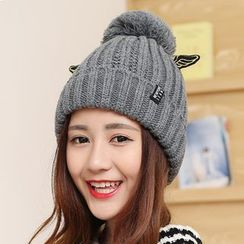 SHUMI - Wing Knit Beanie